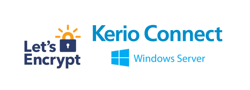 Let's Encrypt Kerio Connect Mail Server on Windows Server
