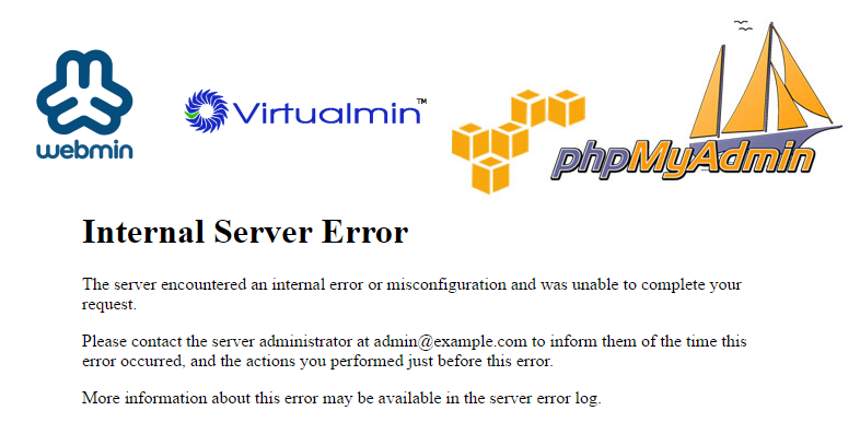 phpMyAdmin Internal 500 error when importing large database!