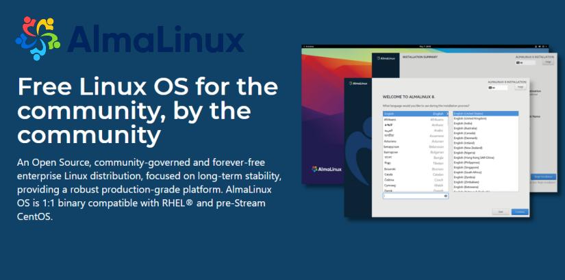 AlmaLinux Alternative to CentOS 8